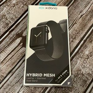 X-Doria Hybrid Mesh Band  44 & 42mm Apple Watch